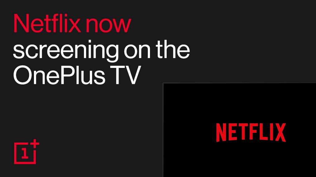 OnePlus TV Q1 & Q1 Pro got Netflix Support update