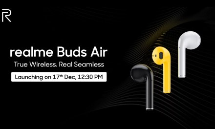 Realme Buds Air price reveals by Flipkart accidently