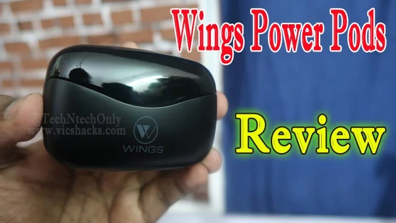 Wings Power Pods Bluetooth Earbuds Review – A Stylish Gear