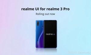 realme 3 pro realme ui android 10