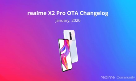 Realme X2 Pro January OTA update rollout – Airtel & Jio VoWi-Fi enabled