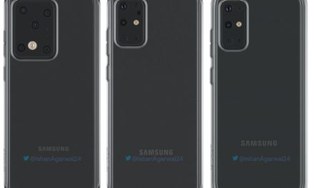 Samsung Galaxy S20, S20 plus, S20 Ultra phone case renders