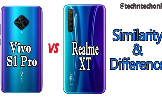 Vivo S1 Pro Vs Realme XT Similarity & Differences: Which is Best?