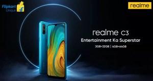 realme c3 launch