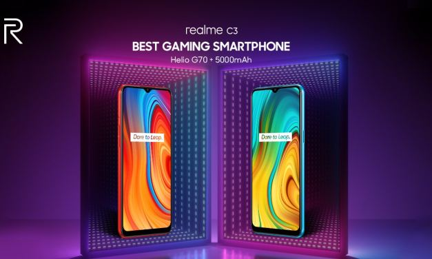 Realme C3 features Reverse Charging support