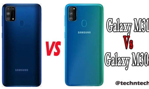 Samsung Galaxy M31 Vs Galaxy M30s Similarity & Difference
