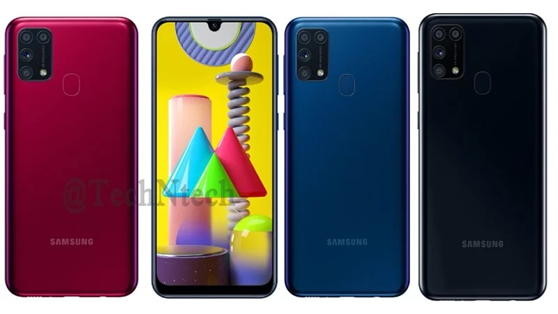 Samsung Galaxy M31 launch in three colors variants