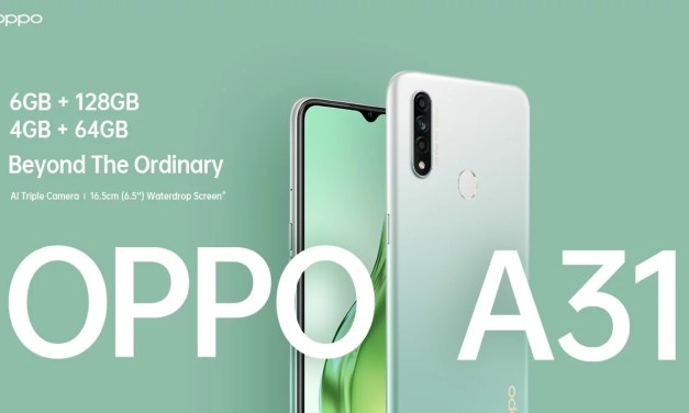 Oppo A31 Price and Specification – 4GB + 64GB & 6GB + 128GB