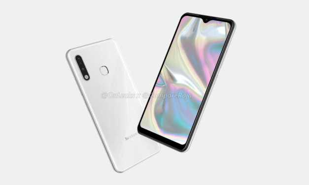 Samsung Galaxy A70e First Look renders