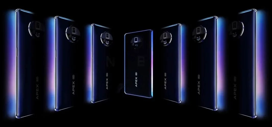 Vivo APEX 2020 First Look – 120-degree Edge-less display, 48MP Gimbal Camera, 60W Wireless Charging