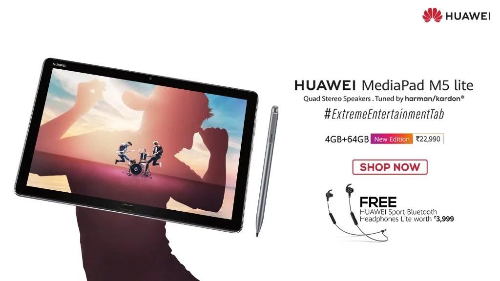 Huawei Mediapad M5 Lite 4GB + 64GB Price, Specs & Offers