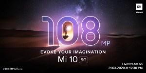 mi 10 launch date in india