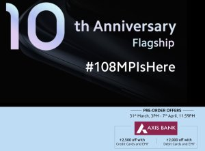 mi 10 launch date, pre-order, offers