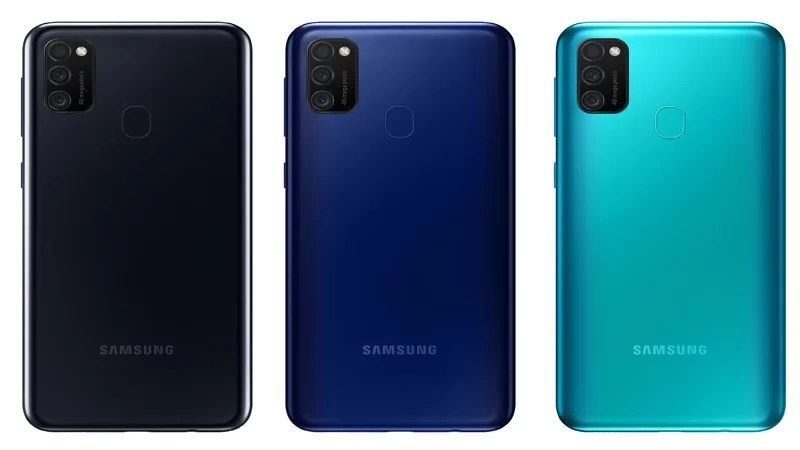 Samsung Galaxy M21 color variants & renders