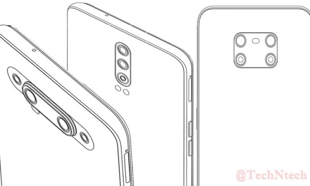 Realme patent new camera module designs with Quad cameras