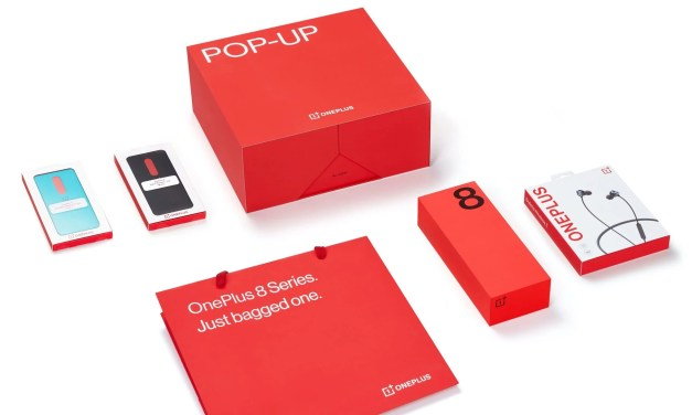 OnePlus 8 & 8 Pro Pop up box launched in India & Price Details