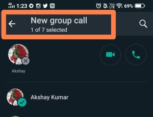 whatsapp group calling limit increased