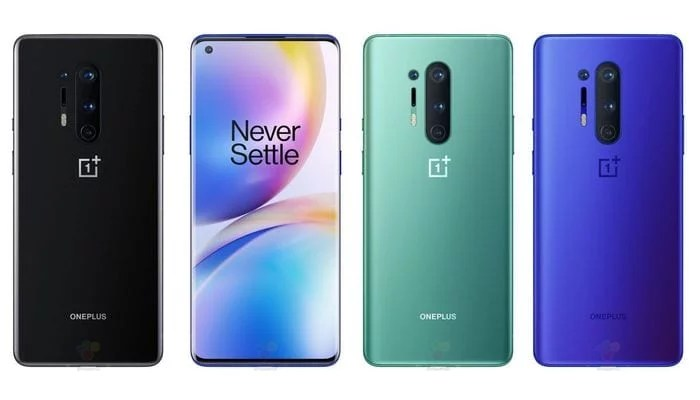 OnePlus 8 Pro Color Variants First Look & Design
