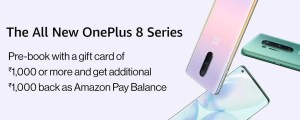 oneplus 8 series amazon prebooking