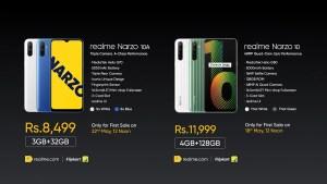 realme narzo series price in India
