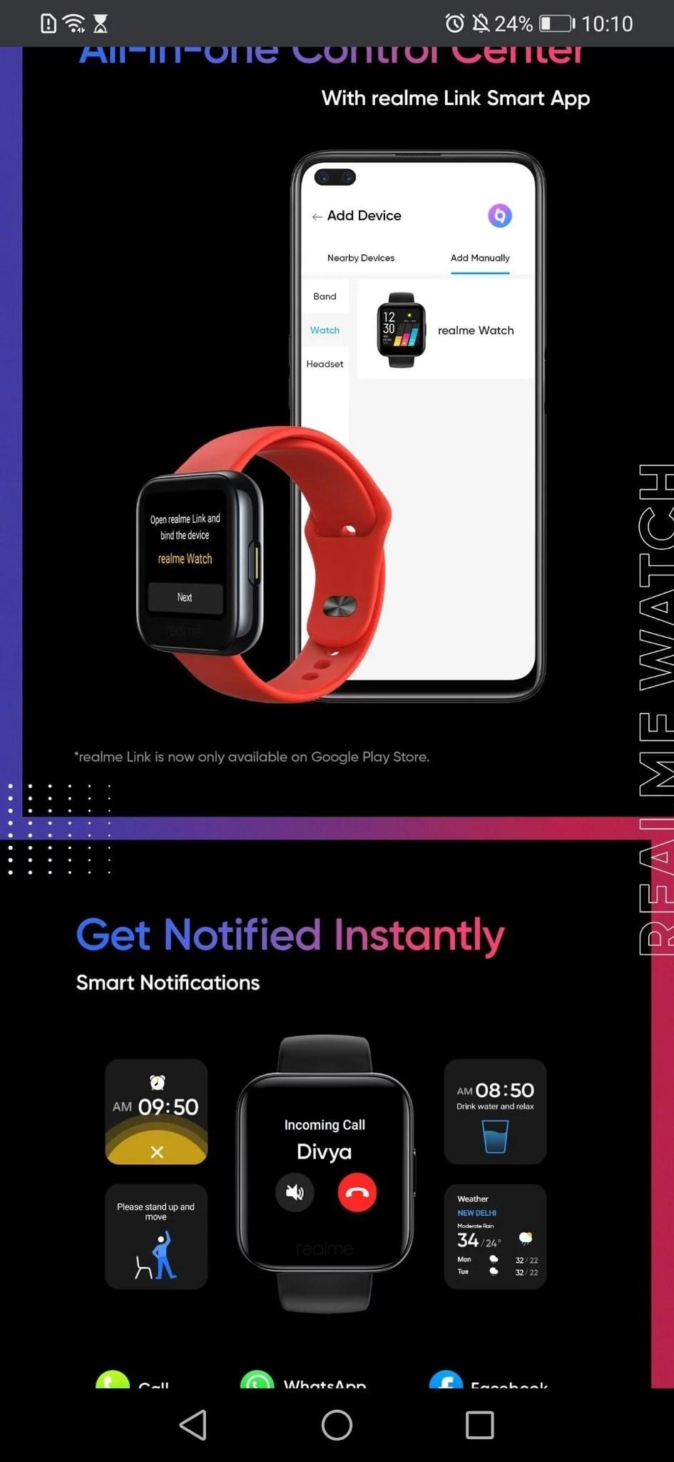 Realme Smart Watch