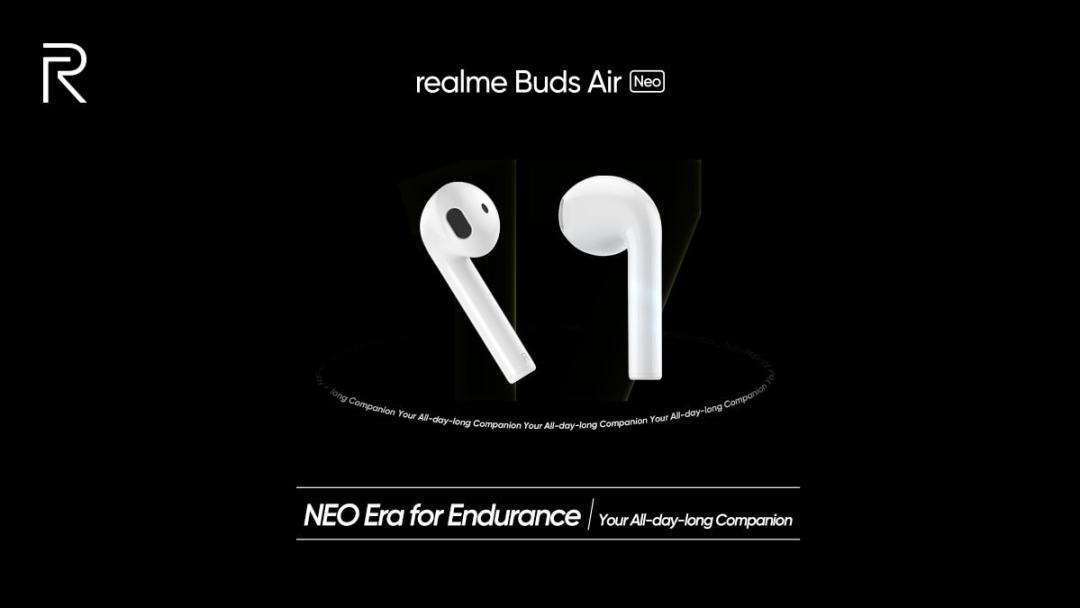 Realme buds Air Neo launch