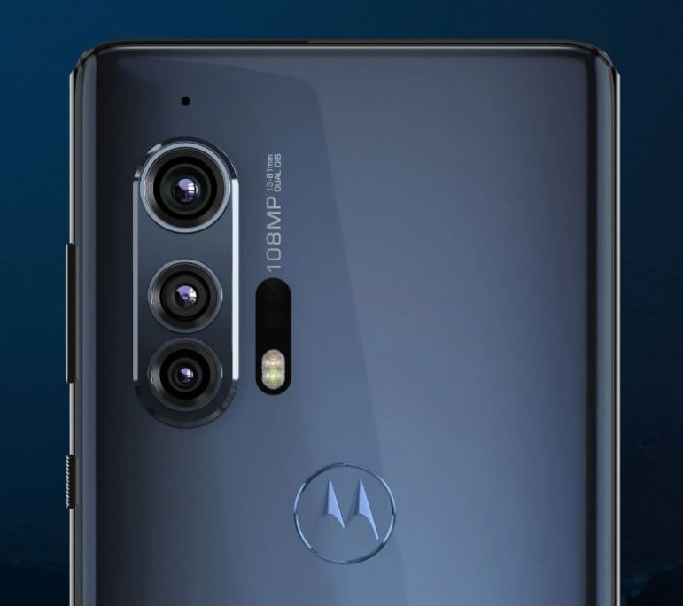 Motorola Edge plus specs & features come with 90Hz refresh rate OLED display, 108MP triple camera, 25MP selfie, stock Android 10, 5000mAH battery, 18W charging