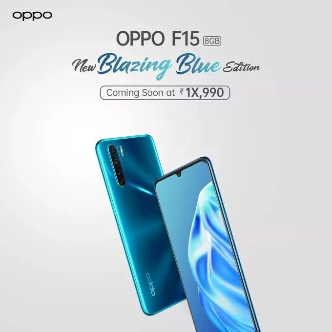 oppo f15 blazing blue