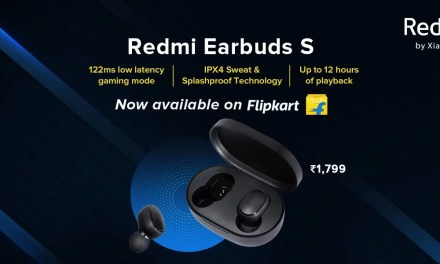 Redmi Earbuds S now available via Flipkart for same price