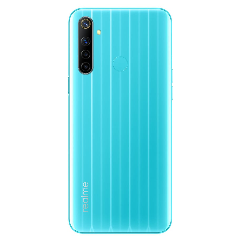 realme narzo 10 that blue colours