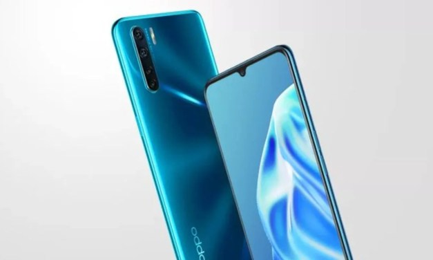 Oppo F15 Blazing Blue color variant launch in India