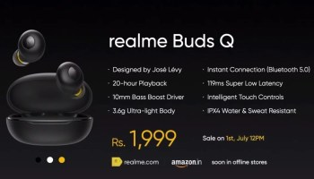realme budsQ price in India