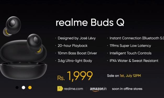 Realme's first In-Ear Bluetooth earbud launched in India – Price & Features