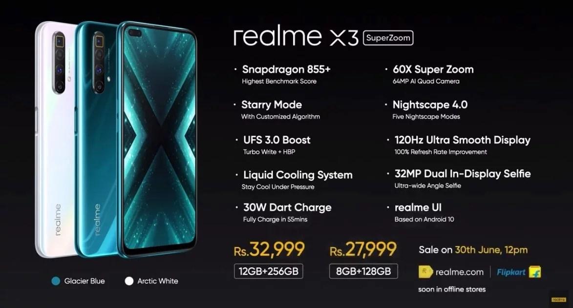 Realme X3 Super Zoom X3 Price Specs Www Vicshacks Com