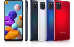 Galaxy A21s specs, features