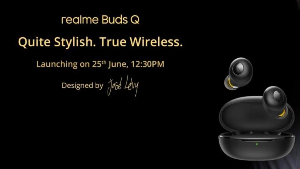 Realme Buds Q is an upcoming Bluetooth earbuds launch in India on 25th June. Realme Buds Q launch in 3 colors, yellow, Black & White. It latency is 119ms