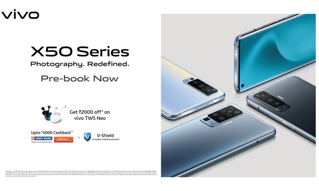 Vivo X50 series launched in India – Here its Specs & Price details