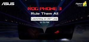 asus rog phone 3 launch in India on 22nd July