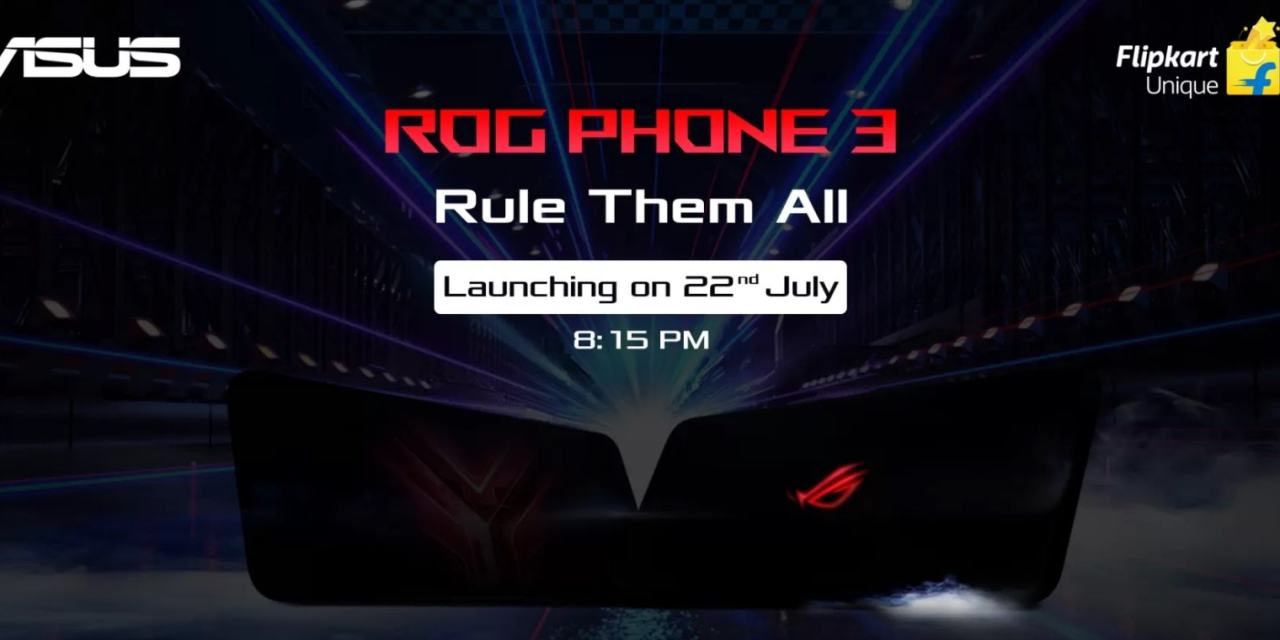 ASUS ROG Phone 3 launching in India on 22nd July