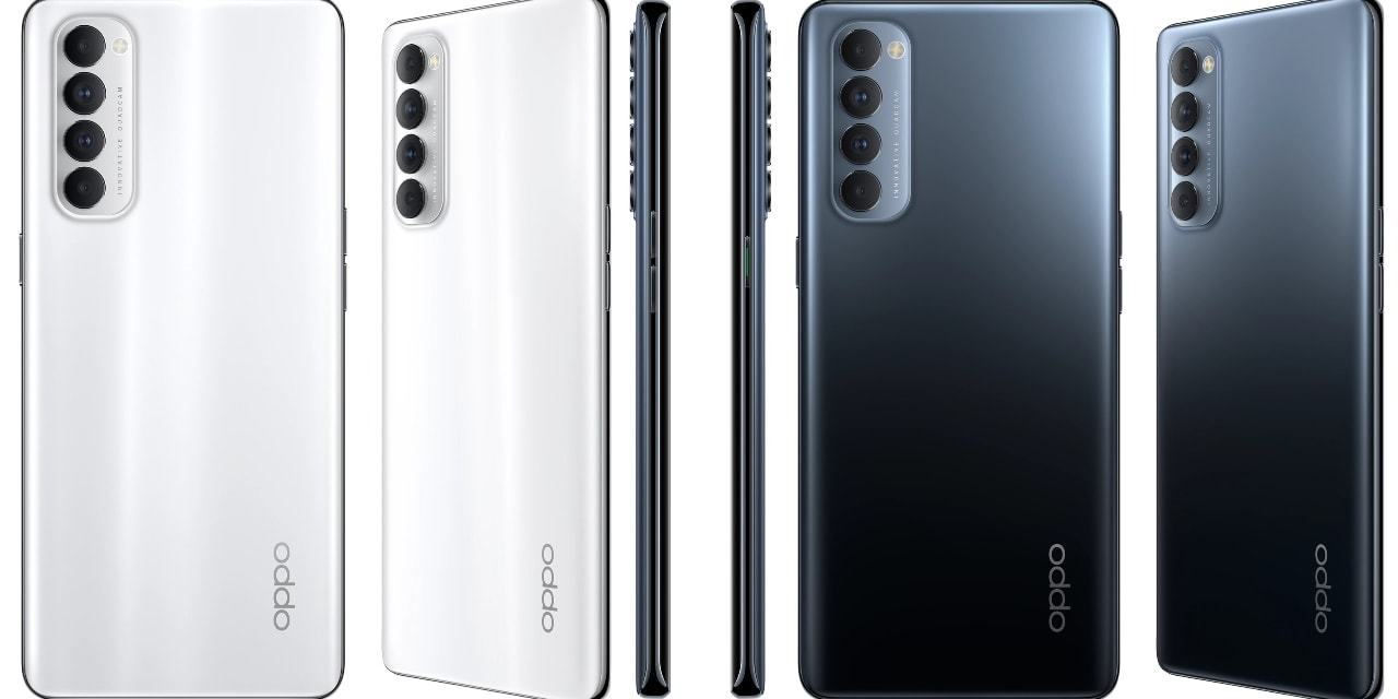 Oppo Reno 4 Pro Official Color variants revealed