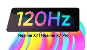 realme x7 pro sports super AMOLED, 120Hz display
