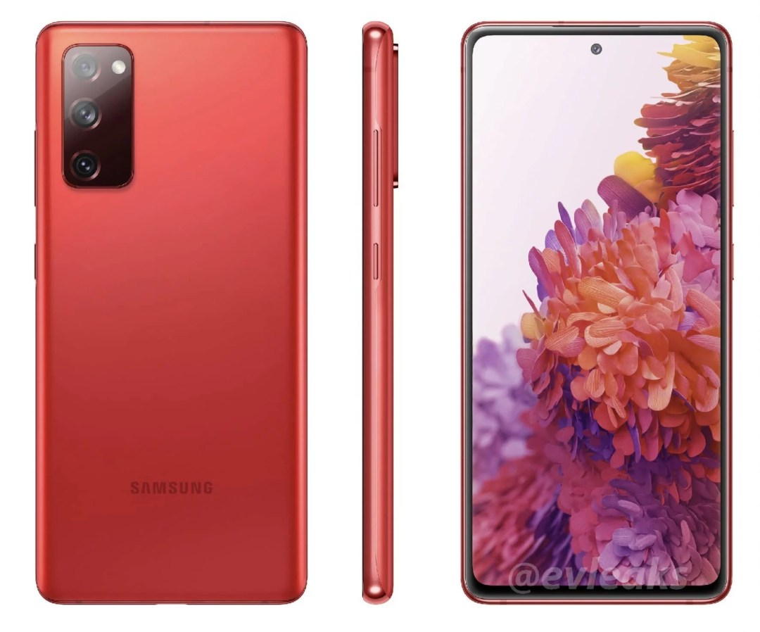 Samsung will launch six different colors for the Galaxy S20 Fan Editions - Black, Orange, Pink, Green, Red, and White colors. Which is your favorite colors