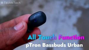 ptron bassbuds urban review