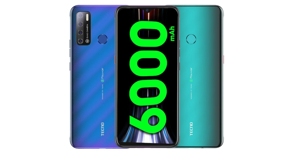 TECNO Spark Power 2 Air with 7-inch display, quad rear cameras, stereo speakers, 6000mAh battery launched in India for Rs. 8499, Specs and availability
