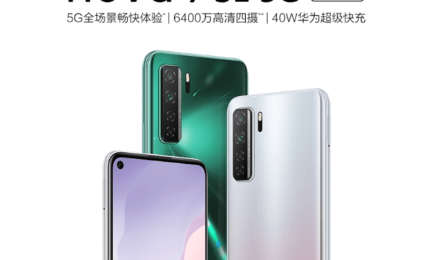 Huawei Nova 7 SE Vitality Edition launched in the China, Price at: 2,299 Yuan, with MediaTek Dimensity 800U SoC