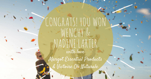 Victoire Oh Naturale Mothers Day WIN winner announcement