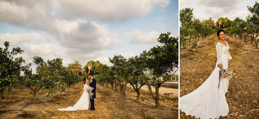 sesión de boda en el bancalito