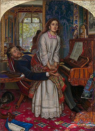 'The Awakening Conscience' by William Holman Hunt (1853)