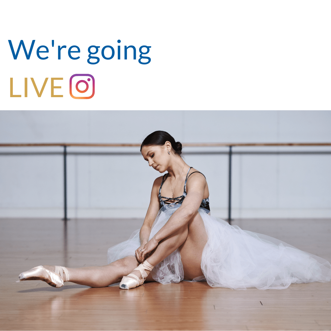 Ballet Classes LIVE on Instagram