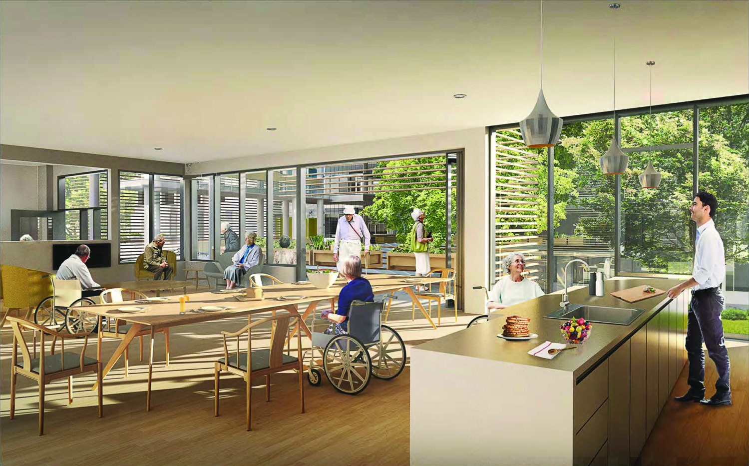 Photo Renderings Of Bc S First Publicly Funded Dementia